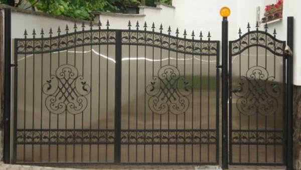 Modele Porţi şi Garduri din Fier Forjat - PG204