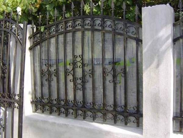 Modele Porţi şi Garduri din Fier Forjat - PG214