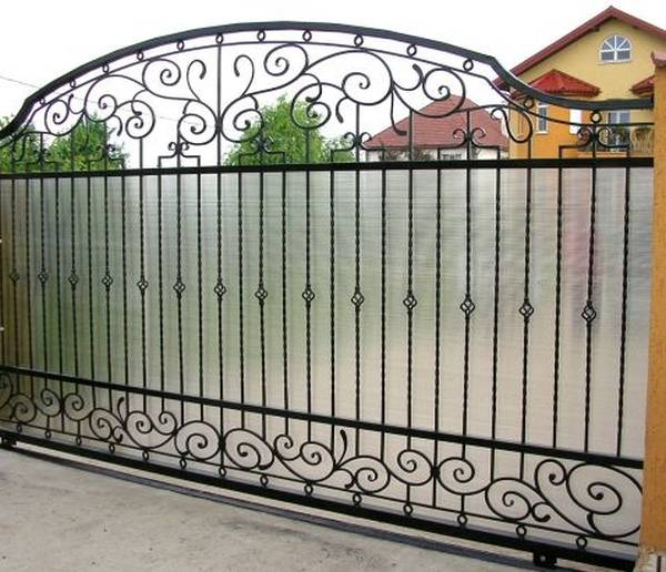 Modele Porţi şi Garduri din Fier Forjat - PG43