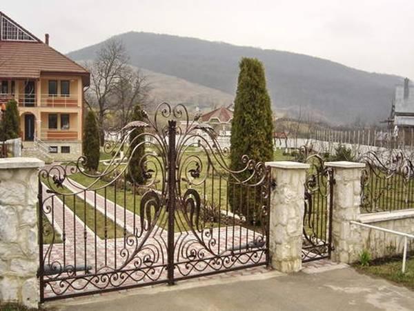Modele Porţi şi Garduri din Fier Forjat - PG05
