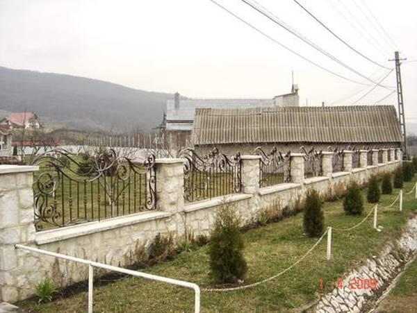 Modele Porţi şi Garduri din Fier Forjat - PG06
