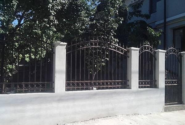 Modele Porţi şi Garduri din Fier Forjat - PG89